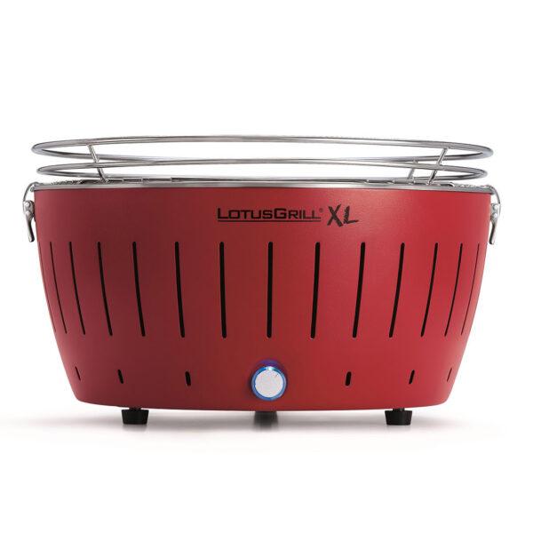 LotusGrill XL Red vč. tašky + 1 sada baterií + 1kg uhlí + 1 gel